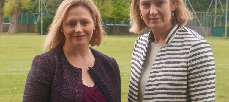 Mary Macleod and Amber Rudd