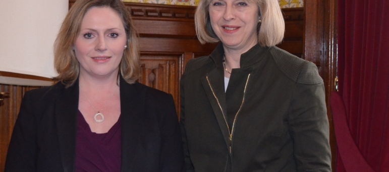 Mary Macleod and Theresa May